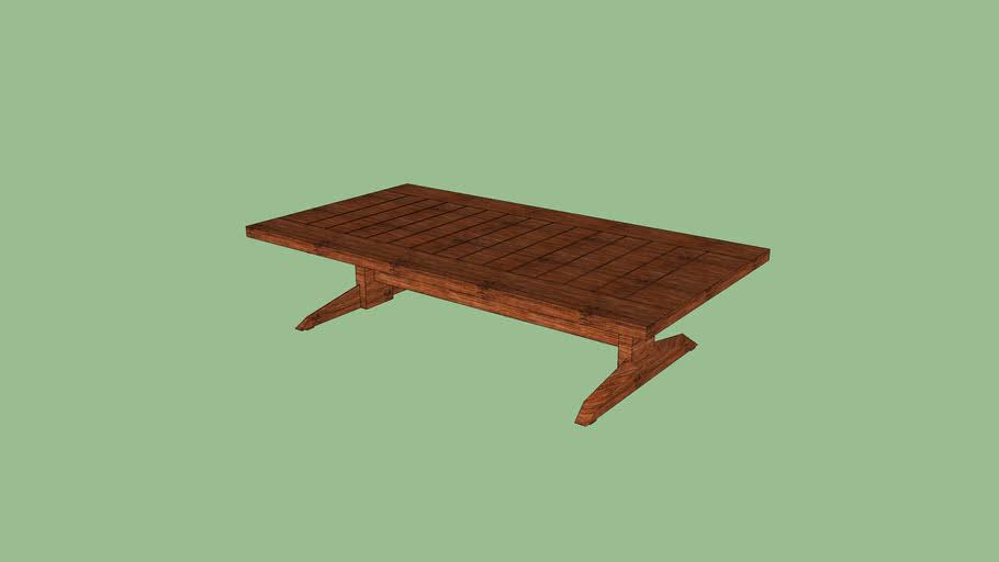 BK-Alv mesa de centro