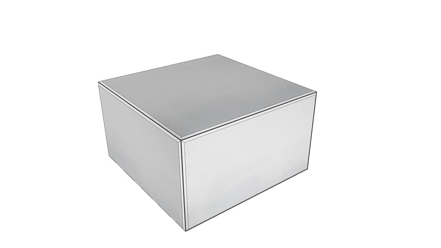 84547 Coffee Table Luxury 70x70cm