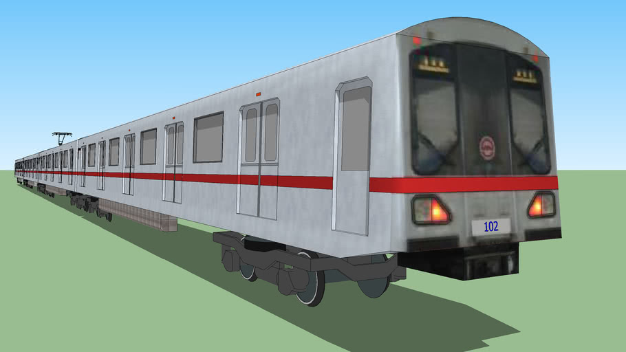 Shanghai Metro Line 1 DC-01 Train(SIEMENS Company)