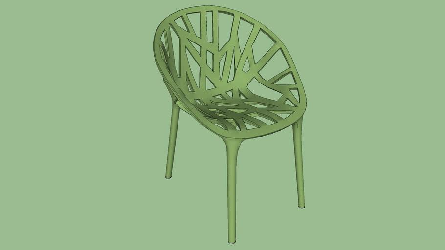 Vegetal Chair - Ronan & Erwan Bouroullec (2008)
