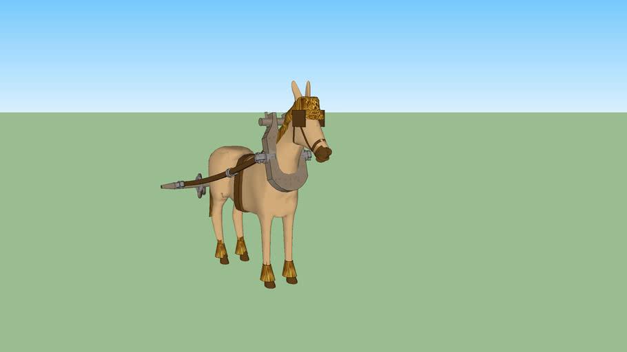 ARGO towing horse