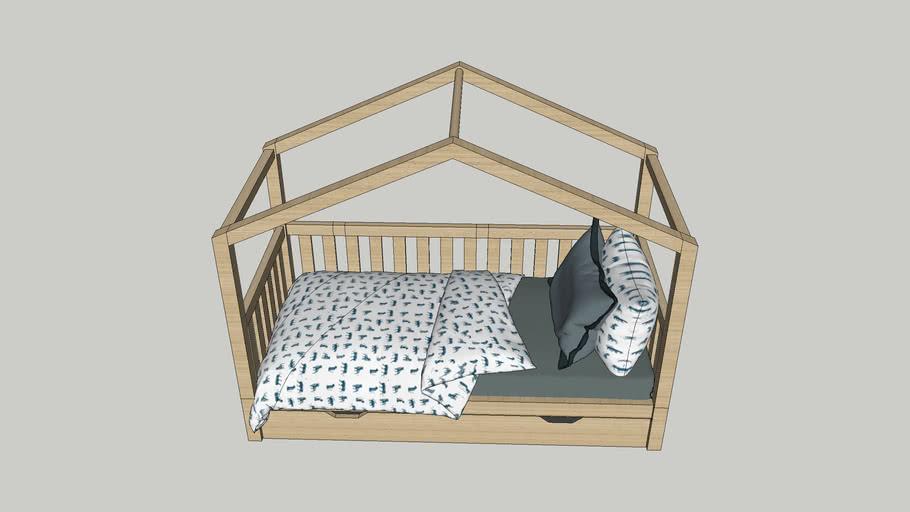 Beter Bed - Sofabed huis met slaaplade Dallas