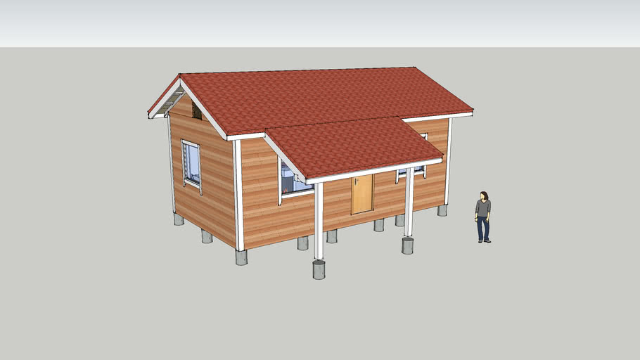 30 square meters tiny house KD-30