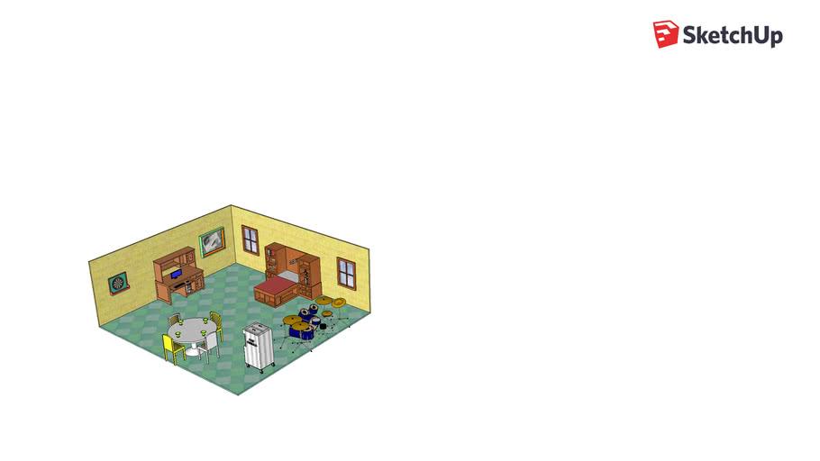 Filled Bedroom