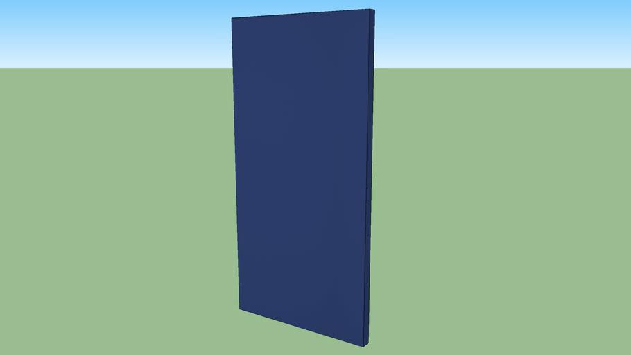 "echoshield™ Standard 4' x 2' x 2"" Acoustic Panel - Blue Diamond Weave"