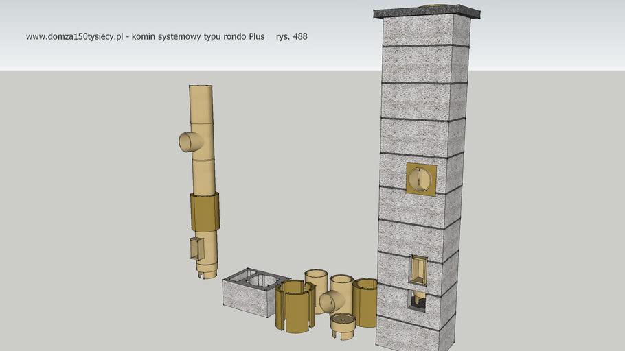 domza150tysiecy.pl - komin systemowy typu rondo Plus