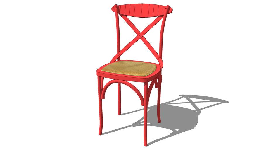 Chaise rouge TRADITION Maisons du monde