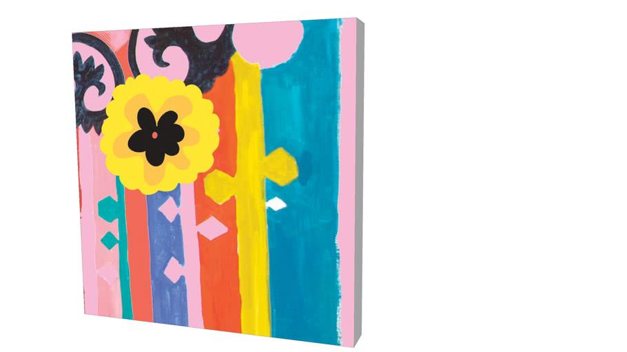Quadro Sisters Gulassa - Composition of Colors 06