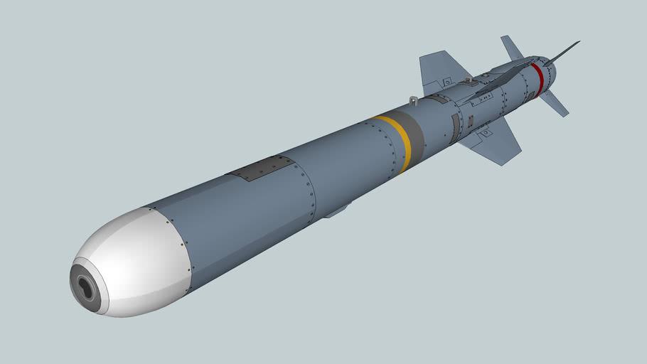 AGM-84 E SLAM Harpoon air to ground missile