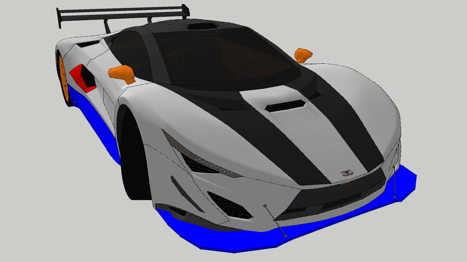 Shimmy Specter GT3 Nichz Racing Car