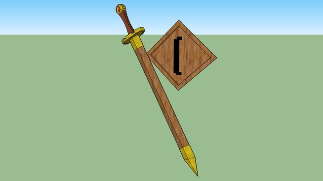 Random sword with Random shield