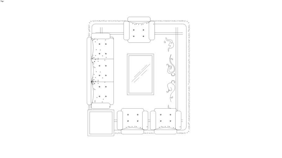 Liz 2D furniture