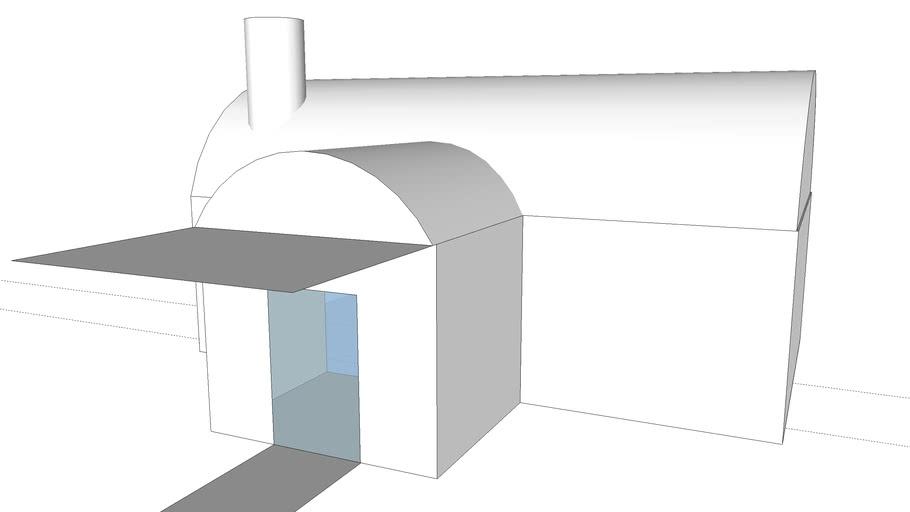 Einfaches Haus