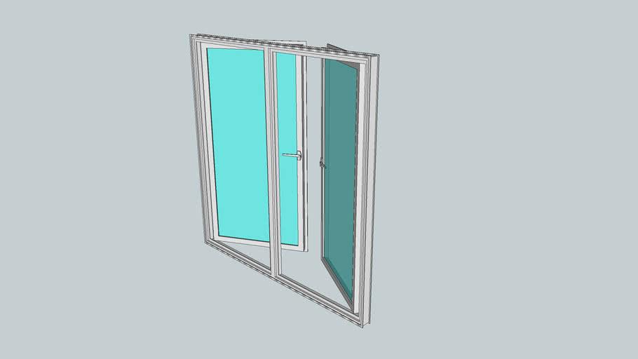 Esquadria de aluminio