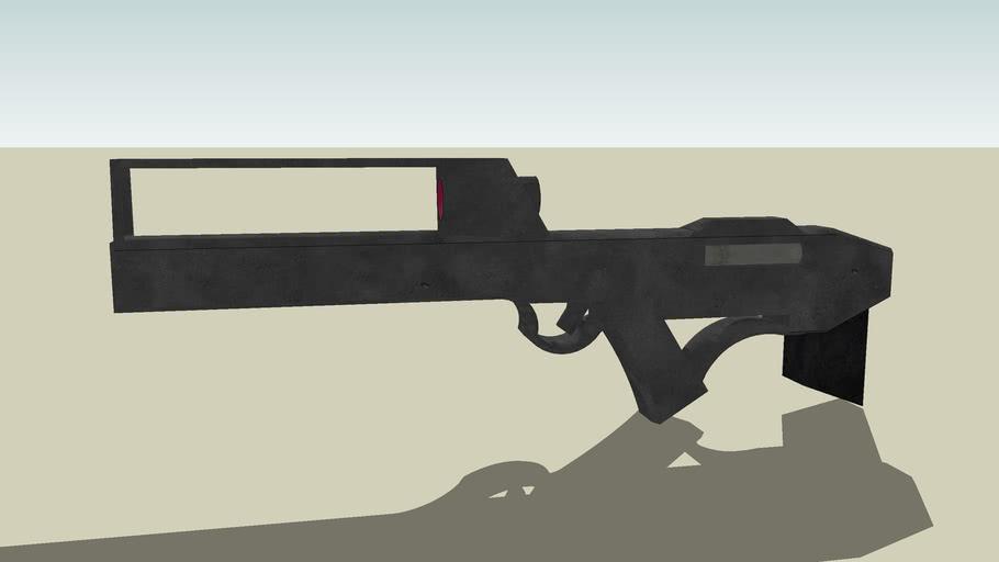 Enemy Weapon: Hammershot plasma rifle