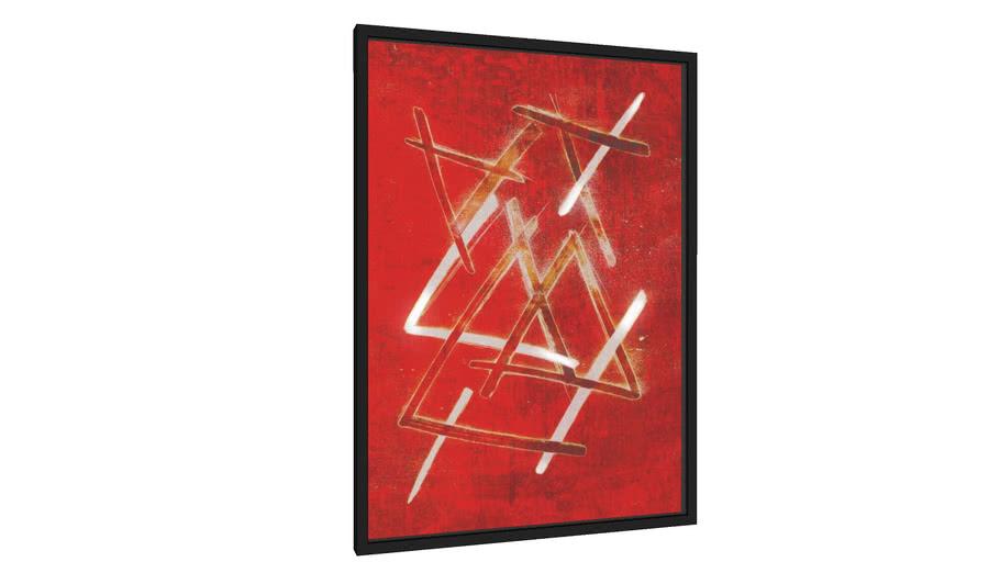 Quadro Red - Galeria9, por leandrojsj