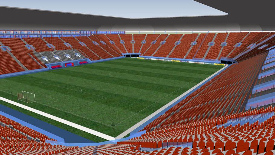 Invented stadium / Stade inventé