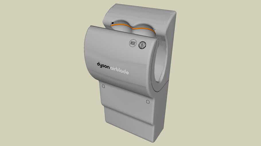 Dyson Airblade Hand Dryers Ab04 Series: 02 AB04 - 120 V Dyson Airblade Hand Dryer