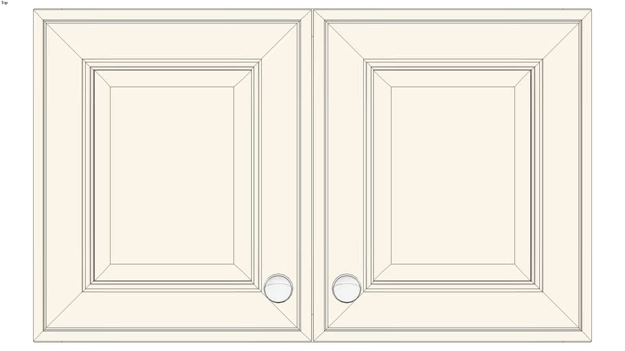 Wall Double Door 18Hx15D
