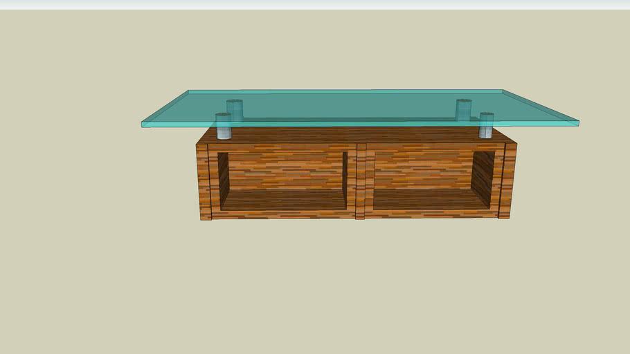 glas table