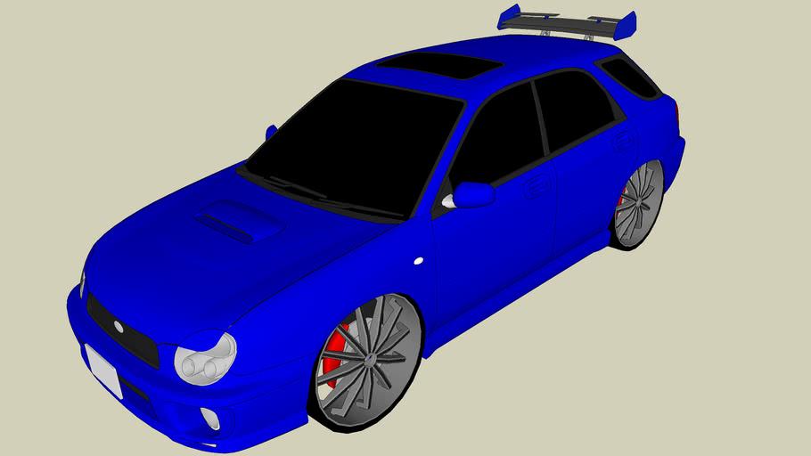 Tuned Subaru Impreza WRX STI Wagon