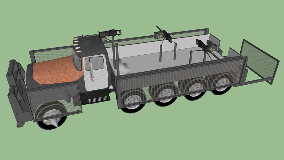 Anti-Zombie truck