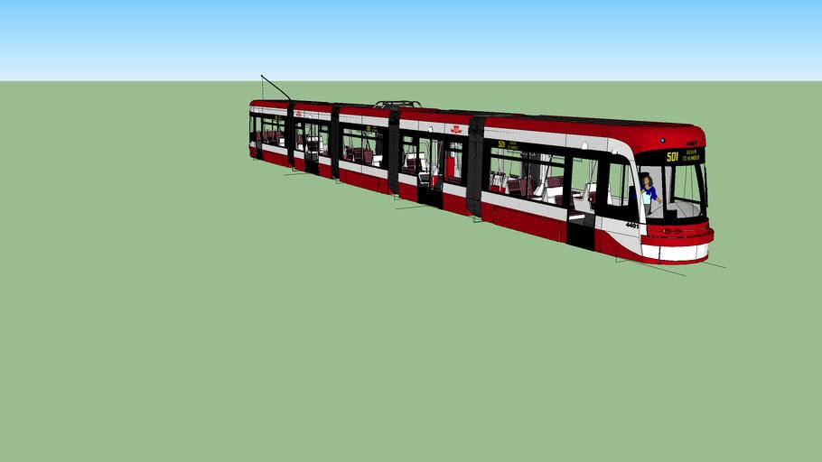 TTC new low-floor streetcar