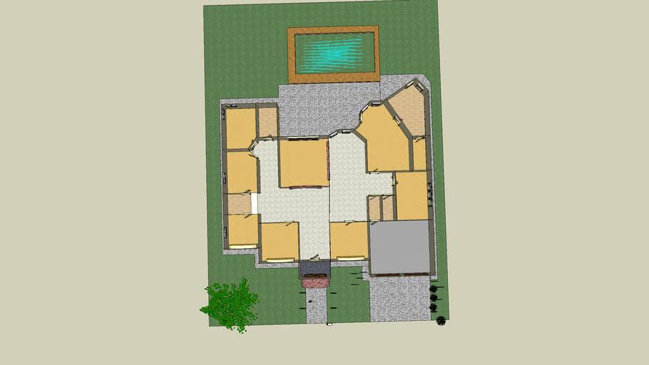 one-story houseplan