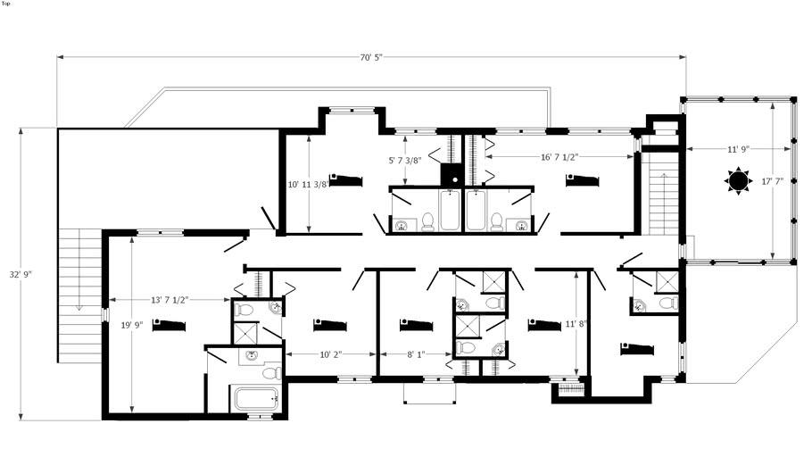 Hotel floor plans | 3D Warehouse