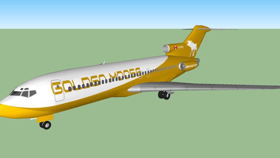 Golden Moose Airways 727-15 (2013)