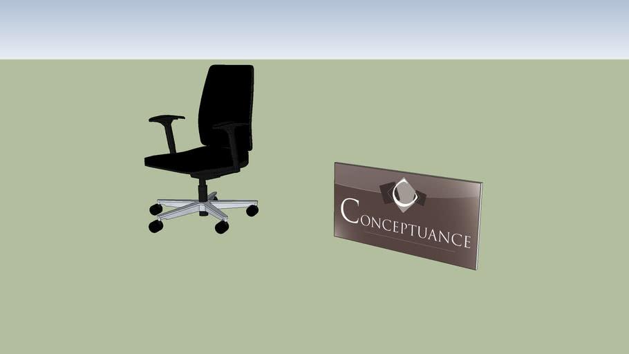 chaise bureau Réf : 40503