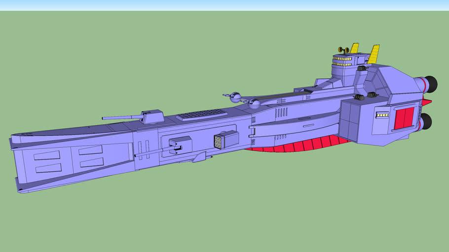 Salamis class cruiser late version / サラミス級巡洋艦 後期生産型