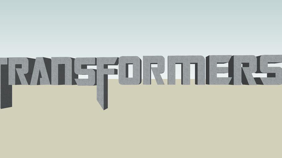 Transformers Movie Logo