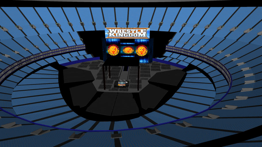 NJPW WrestleKingdom at Tokyo Dome COMPLETE Model