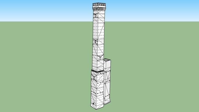Garisenda and Asinelli Towers, Bologna 1294 A.D.