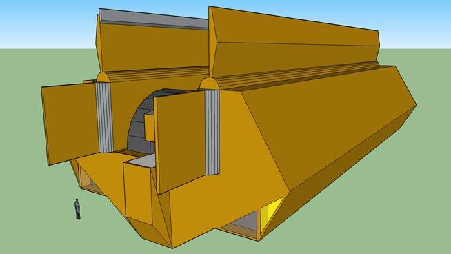 Y'ghatai Self Propelled Railgun