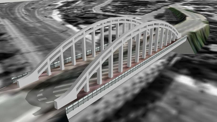 Spoorviaduct Dendermonde