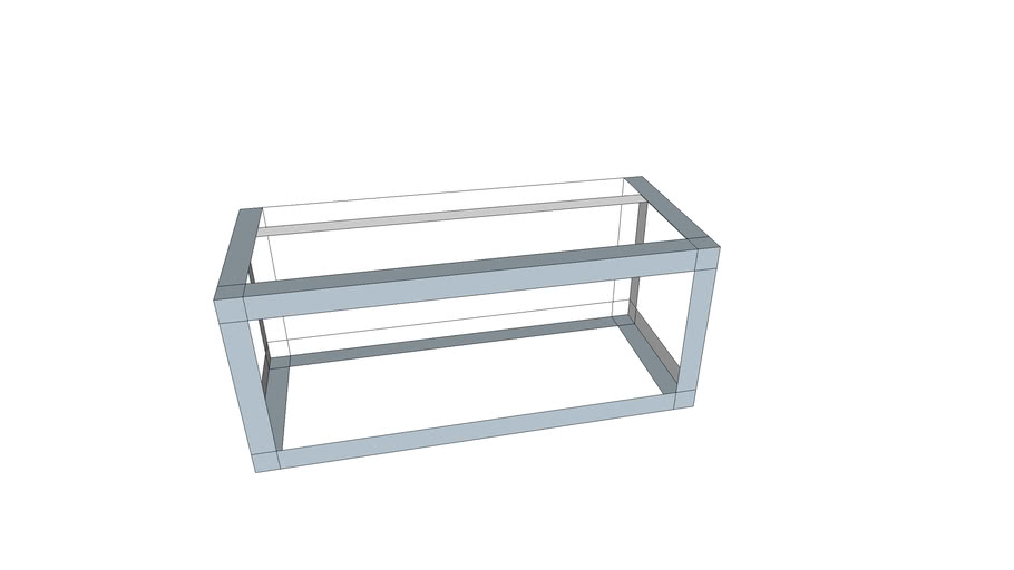 Aluminium open air frame