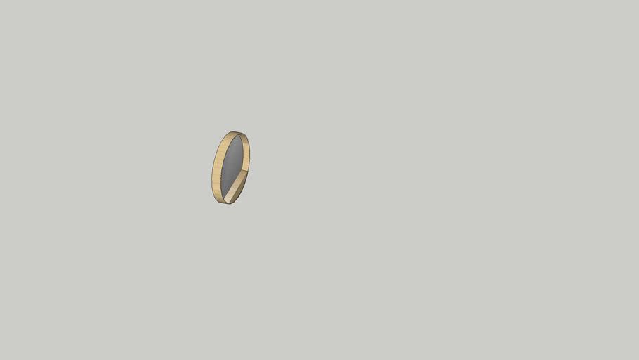 MILO Miroir rond D.80cm REF 164928 REF 150.00€