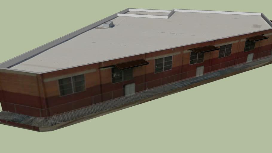 Gebäude in Fresno, Kalifornien, Vereinigte Staaten