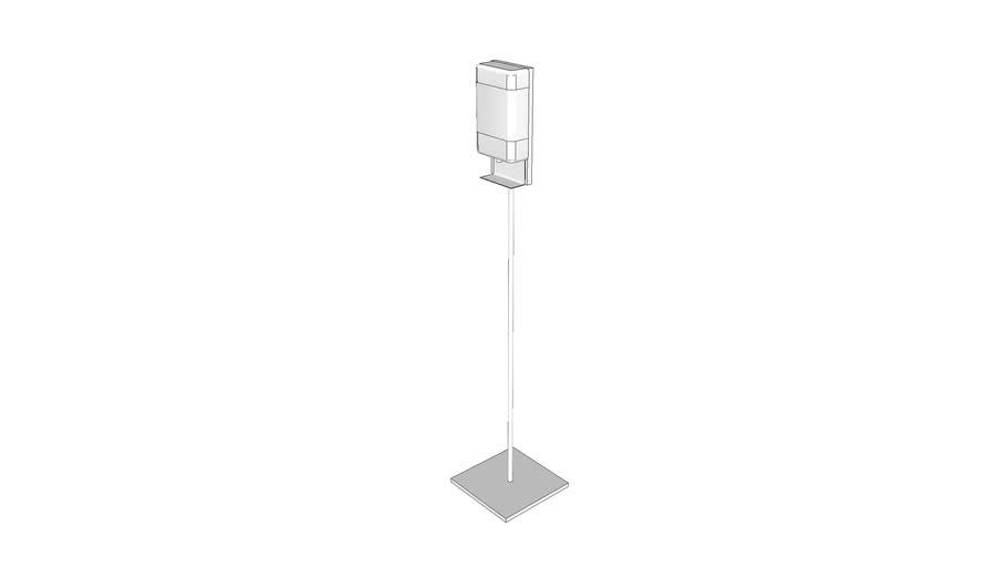A5076 - Dispenser, Hand Sanitizer, Free Standing