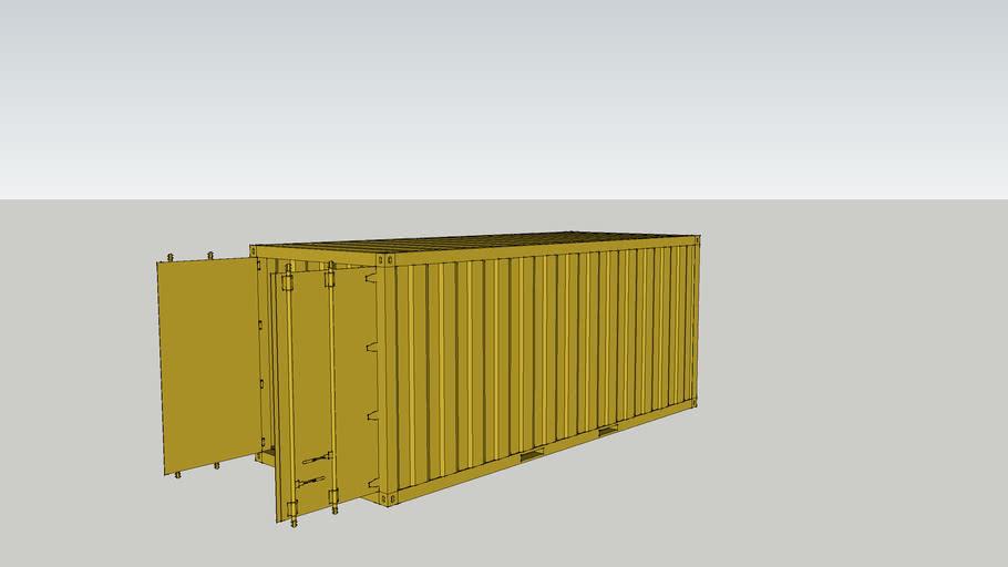 20 ft cargo container