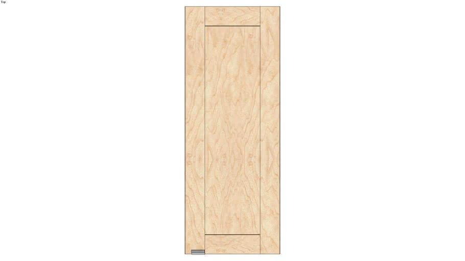 Wall Single Door 39H