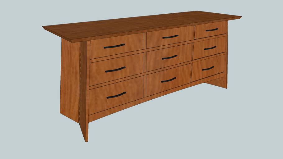 Thos. Moser Edo 9-Drawer Dresser