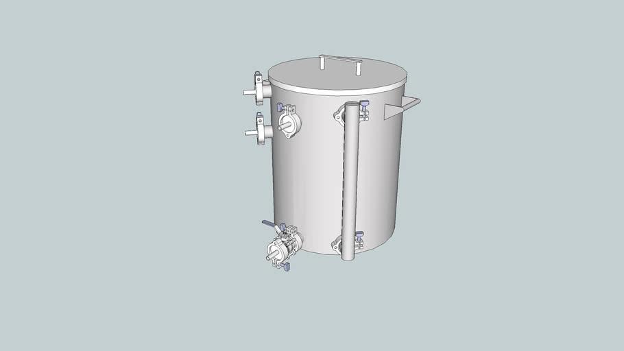 15 gallon HERMS HLT