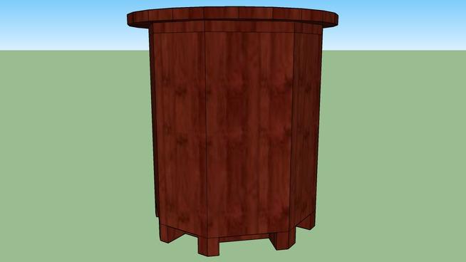 SANDRINE --- TABLE de CHEVET -- H480 * D460