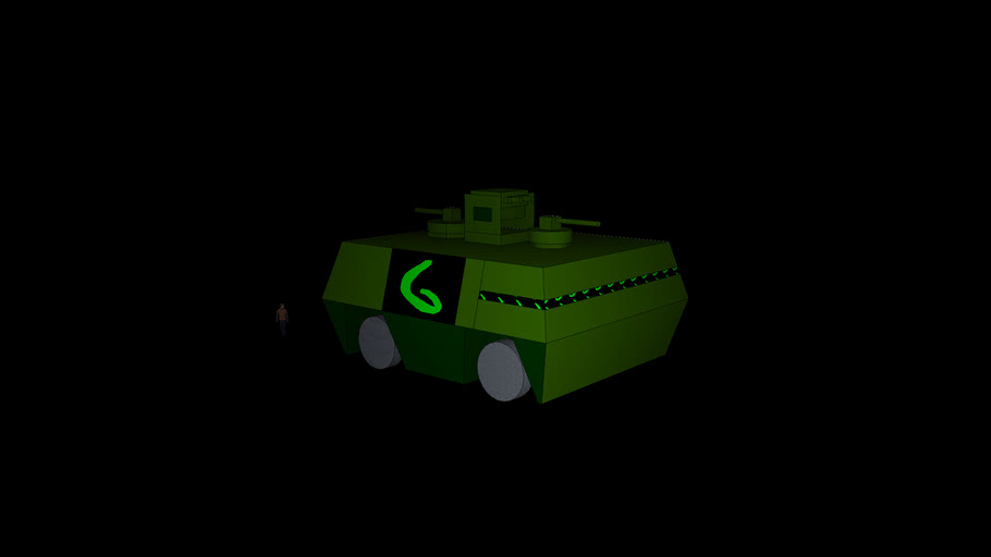 Green Army millitary transport phase 1