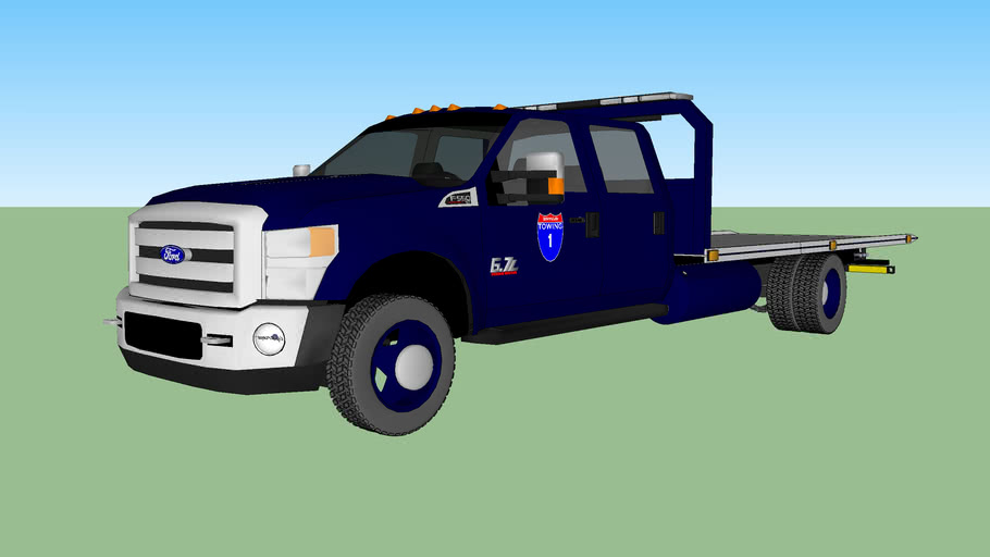 Interstate Towing 2011 F-550 Rollback
