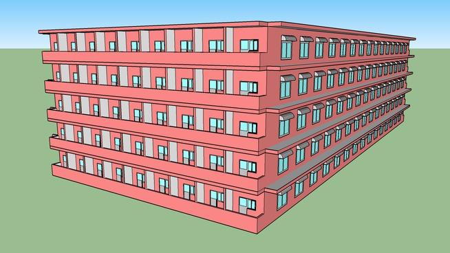 China University of Geosciences(Beijing), Student hostels 14/中国地质大学(北京) 14号楼