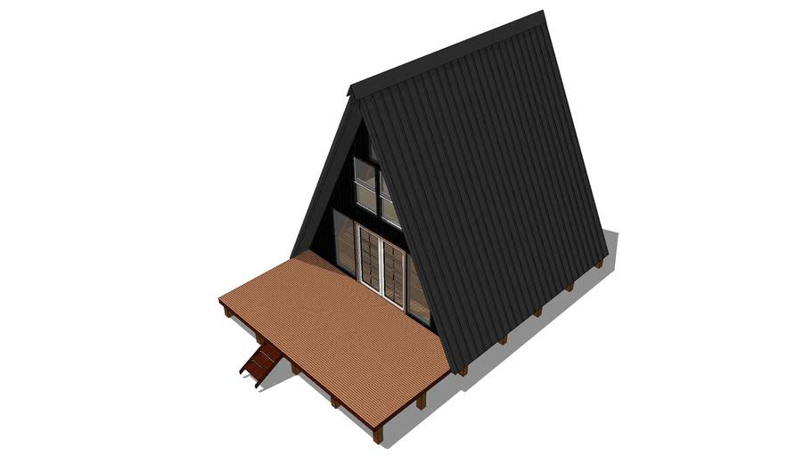 A Frame House 3d Warehouse